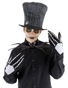 The Nightmare Before Christmas Jack Skellington Costume Accessory Kit New UNWORN