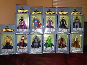 Batman Hush Action Figure Set Batman Harley Quinn Nightwing Huntress