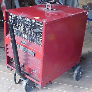 2 Lincoln Welders Idealarc SP 200 Idealarc TIG 300 300 Low Reserve No Shipping