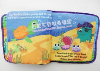 New Baby Kid Child Lamaze Octopus Pirate Captain Treasure Hunt Cloth Book