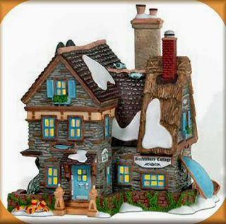 Bucklebury Cottage New Department Dept 56 Dickens Village DV