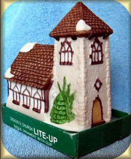 Dickens Village Church Clip on Department Dept 56 Ornament