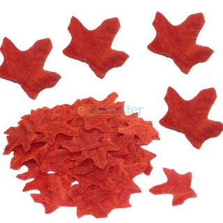 New 180 Pieces Maple Leaves Fall Wedding Party Garden Aisle Runner Decoration