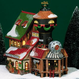 TOOT's Model Train Mfg Ed UTube New Department Dept 56 North Pole Village