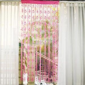 Musical Note Tassel String Door Curtain Window Room Divider Home Decoration
