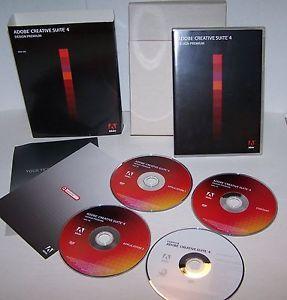 Adobe Creative Suite 4 CS4 Design Premium Mac 65021645 No Number