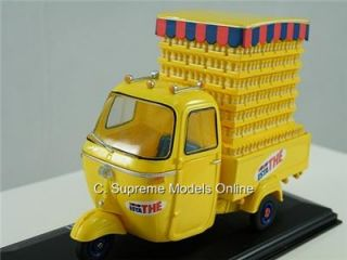 Piaggio Ape D500 Estathe 1967 1 32nd Scale Yellow Crates Issue Mint K8967Q