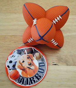 Air Bud Football Dog Toy Hard Rubber