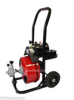 """Electric Eel Drain Snake Cleaning Machine Model R 3 4"""" x ..."""