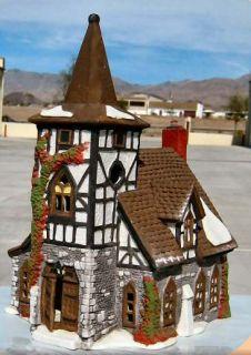 Old Michael Church New Department Dept 56 Dickens Village D56 DV