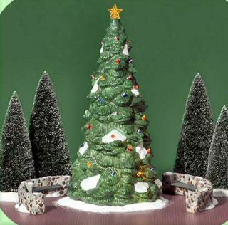 Town Tree New Department Dept 56 Village Christmas in The City D56 CIC