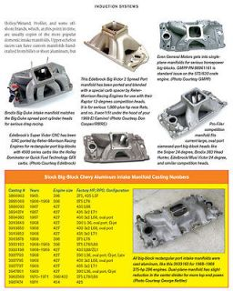 How to Build A BBC 572 540 496 Chevy Big Block Stroker Engine Book