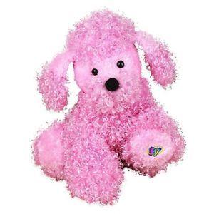 Pink Poodle Dog Webkinz Lil Kinz Plush Toy