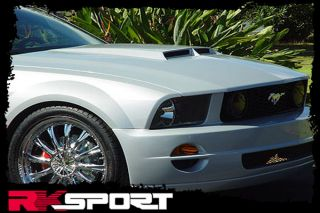 New Ford Mustang GT R Style RAM Air Hood Only Fiberglass Car Body Kit 18011000