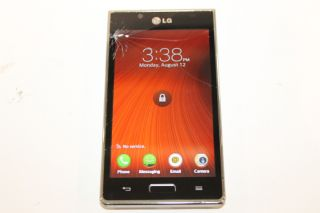 LG Venice LG730 Silver Boost Mobile Smartphone