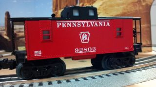 Lionel Pennsylvania Railroad PRR 561 Steam Engine Whistle Tender Caboose New