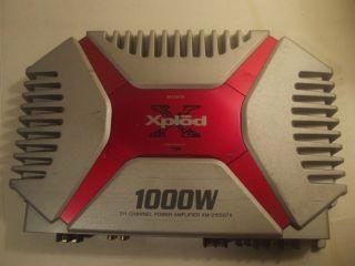 Sony XM 2165GTX 1000W Xplod 2 1 Channel Power Amplifier 027242620582