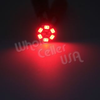 10 Bright Red Color Guage Cluster Instrument Speedometer Dash LED Light Bulb 168