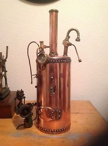 Live Steam Engine Boiler and Pump