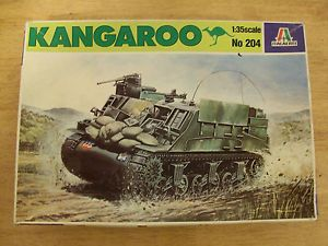 1 35 British Kangaroo Armoured Personnel Carrier APC Italeri 204