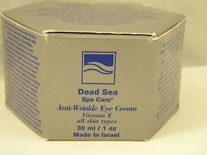 Dead Sea Spa Care Anti Wrinkle Eye Cream 30 ml 1 OZ