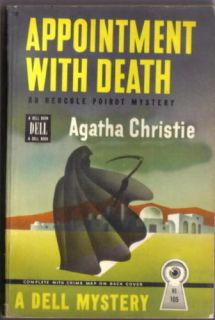 Appointment with Death Agatha Christie Dell Mapback Paperback Book 1946 VFN
