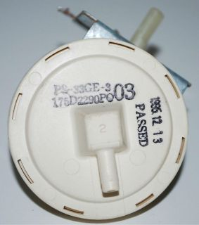 GE Washer Water Pressure Switch 175D2290P003 WH12X10069 WH12X1006 30Day Wrnty