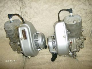 Pairnos Westbend Chrysler 700 Vtg Go Kart Engines 2CYCLE Power Bee McCulloch 580