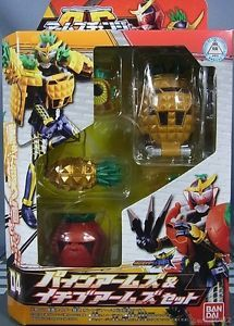 Bandai AC04 Masked Kamen Rider Gaim Pine Arms Strawberry Arms Set