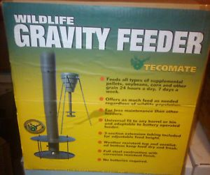 Tecomate Gravity Protein Deer Feeder Kit New MSRP $89