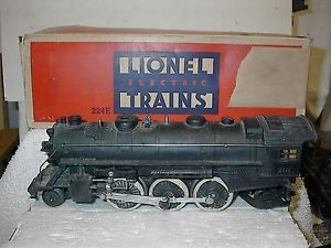 Vintage Lionel 224E Pre War Engine w Original Box O Scale