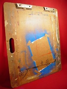 Large Vintage Art Artist Painting Drawing Board Easel Great