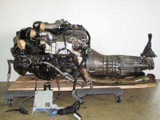 JDM Nissan RB25DET Engine Series 2 with 5 Speed ECU Harness ECR33 6 Cylinder