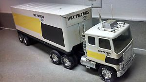 Vintage Nylint WIX Filters Semi Tractor Trailer Truck Very Good Condition