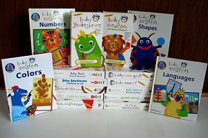 Lot 17 Baby Einstein VHS Tapes Books Language Art Numbers Shapes Nature Color