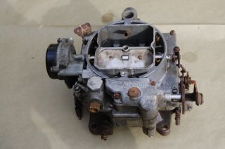 56 Chevy Chevrolet Corvette Carter WCFB 4BBL Power Pack 265