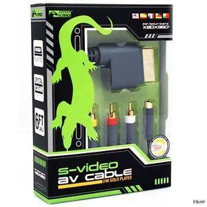 Xbox 360 Super Audio Video SAV Cable Komodo New Composite s AV RCA Cord
