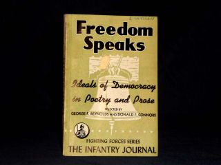 Freedom Speaks Ideals of Democracy in Poetry and Prose