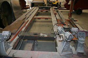 used automotive frame machine