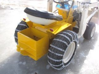 International Harvester Cub Cadet Tractor Danco Loader Kohler Engine Snow Mover