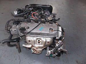 88 91 JDM Honda Civic CRX EF SOHC Non vtec 1 6L Dual Carb Engine JDM ZC D16A