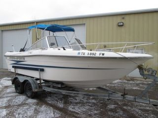 1991 Hydra Sports 2000 20 ft Fishing Boat Used