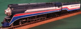 Lionel HO Scale American Freedom Train GS 4 Northern 4 8 4 Steam Locomotive 4449