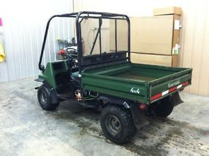 Kawasaki Mule 2510 Gas Powered ATV UTV 4x4 Cart 617cc Engine Electric Dump Bed