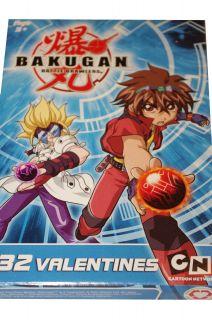 Bakugan Battle Brawlers Boys Happy Valentines Day Cards Letters Dan New