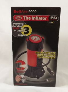 Bell Aire 6000 Tire Inflator PSI Accelerator Air Compressor Brand New