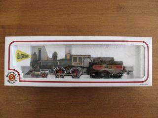 Vintage Bachmann HO Scale American 4 4 0 Steam Locomotive 119 Union Pacific