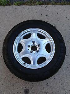 1 Mercedes Benz W140 Wheel Tire Michelin Energy MXV4 235 60 R16