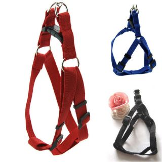 New Step in Dog Harness Adjustable Nylon Harnesses Easy to Walking HG 0015