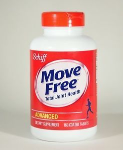 Move Free 160 Tablets Advanced Triple Strength Glucosamine Joint Health Schiff